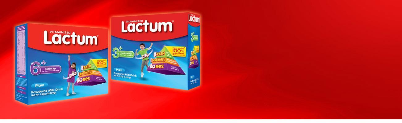 Why Lactum 3+ 6+?