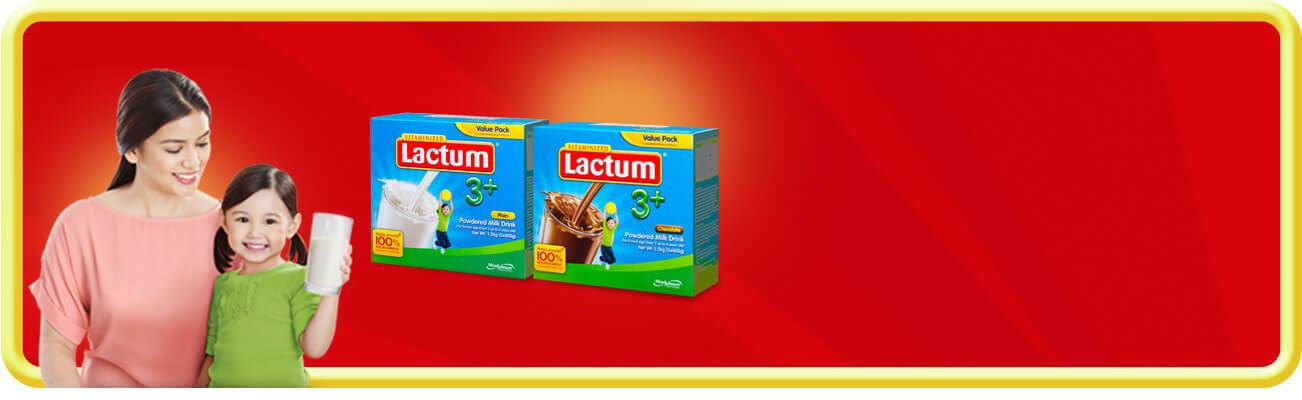 Lactum 3+ Plain and Choco