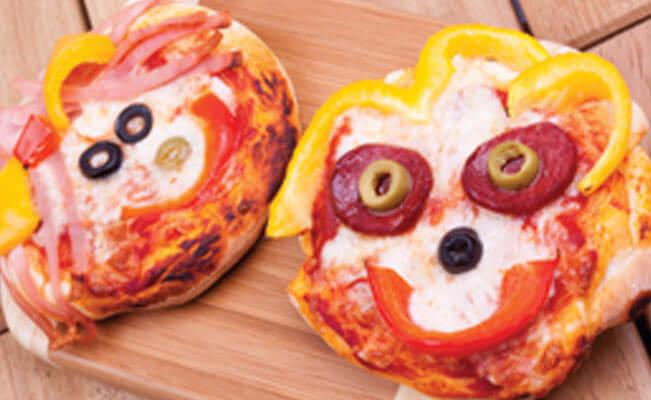 Smiley Pizza
